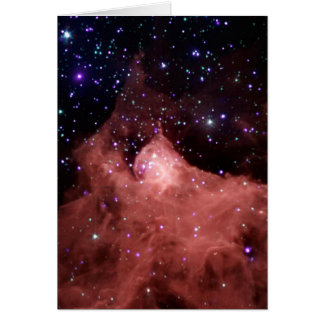 Cepheus B Star Formation Space NASA Greeting Cards
