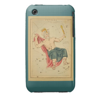 Cepheus the King - Vintage Astronomical Star Chart iPhone 3 Cases