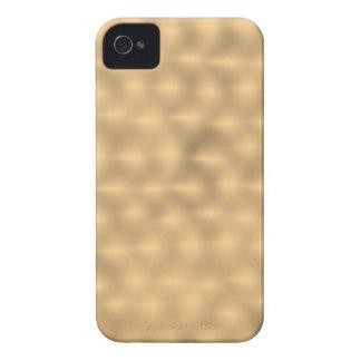 Cepillado Metal-como - fondo del oro Funda Para iPhone 4