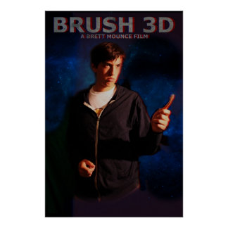 Cepillo 3D Poster
