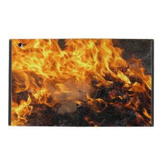 Cepillo ardiente iPad cárcasas