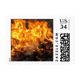 Cepillo ardiente - pequeño sello