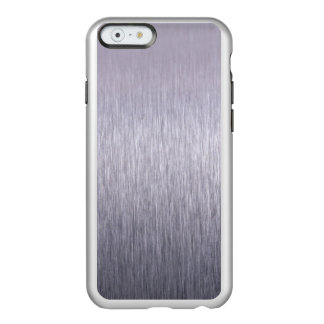 Cepillo de acero funda para iPhone 6 plus incipio feather shine