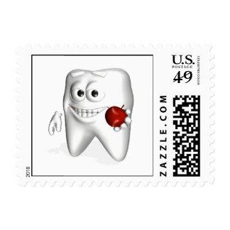 Cepillo de dientes de las naturalezas sello