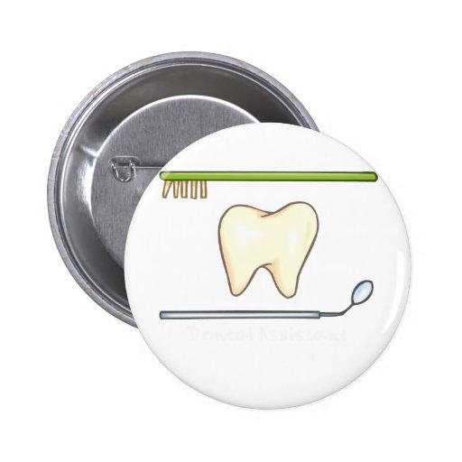 Cepillo dental apacible del espejo del diente pin