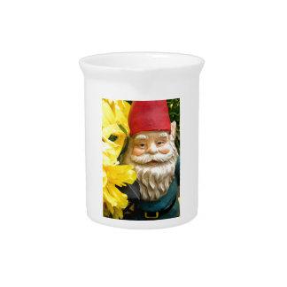 Cepillos del amarillo jarra