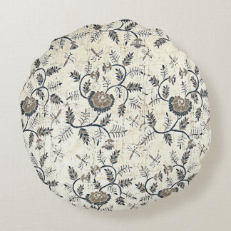 Ceplok Piring Batik Round Pillow