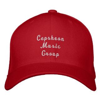 Cepsheon Music Group Red Cap Baseball Cap