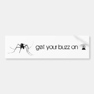 CEQ mosquito bumper sticker Car Bumper Sticker