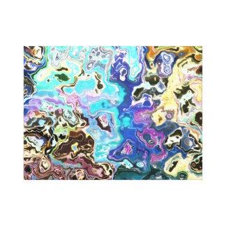 cera de fusión impresión en lienzo