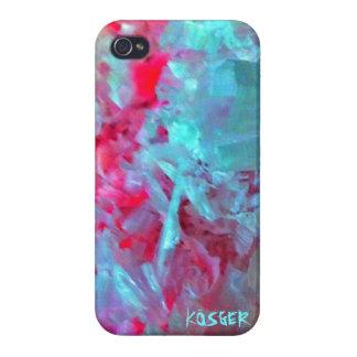 Cera de la snowboard iPhone 4 carcasas