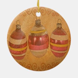 Ceramic Aged Ornaments