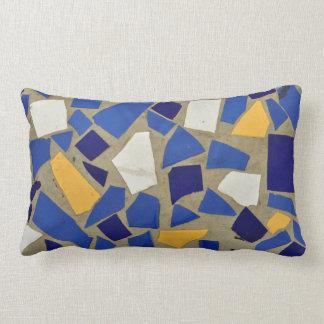 ceramic arab mosaic hone tile crockery shards pillow