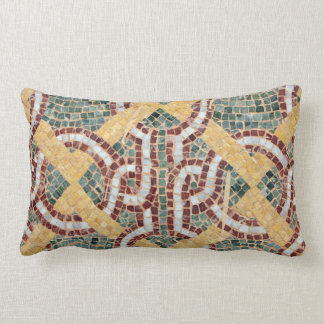ceramic arab mosaic hone tile crockery throw pillow