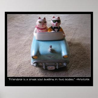 Ceramic Cats Poster