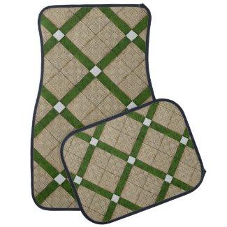 Ceramic Concrete Mediterranean Bricks Green Grey