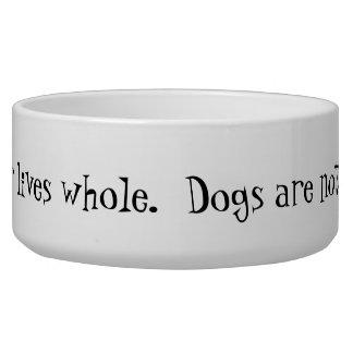 Ceramic Dog Food & Water Bowl