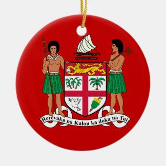 Ceramic FIJI Christmas Ornament
