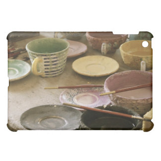 Ceramic Glazes from Deruta, Italy iPad Case