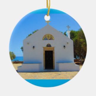 Ceramic Greek Orthodox Church Ornament