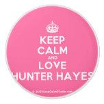 [Crown] keep calm and love hunter hayes  Ceramic Knobs Ceramic Knob