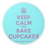 [Cupcake] keep calm and bake cupcakes  Ceramic Knobs Ceramic Knob