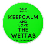 [UK Flag] keepcalm and love the wettas  Ceramic Knobs Ceramic Knob