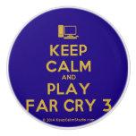 [Computer] keep calm and play far cry 3  Ceramic Knobs Ceramic Knob