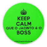 [Crown] keep calm que o jacinto é o boss  Ceramic Knobs Ceramic Knob
