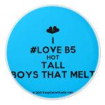 [Two hearts] i #love b5 hot tall boys that melt  Ceramic Knobs Ceramic Knob