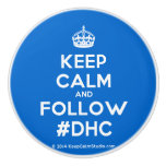 [Crown] keep calm and follow #dhc  Ceramic Knobs Ceramic Knob