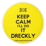 [UK Flag] keep calm i'll do it dreckly  Ceramic Knobs Ceramic Knob
