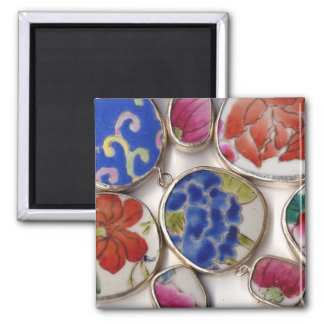 Ceramic Ming Dynasty Pottery Shards Fridge Magnet