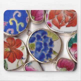 Ceramic Ming Dynasty Pottery Shards Mouse Pad