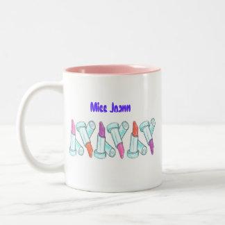 Ceramic Mug -Lipstick Multi Color