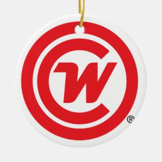 Ceramic Ornament - CLUBWAKA Logo Icon