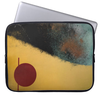 Ceramic Pixels Abstract Art Computer Sleeve