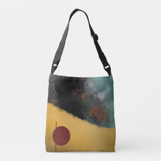 Ceramic Pixels Abstract Crossbody Bag