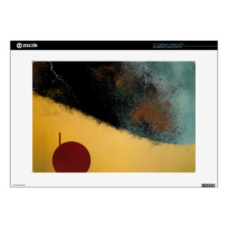 "Ceramic Pixels Abstract pressionistiArt 15"" Laptop Decal"
