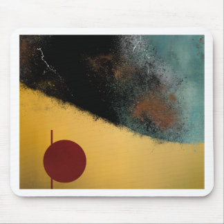Ceramic Pixels Abstract pressionistiArt Mouse Pad