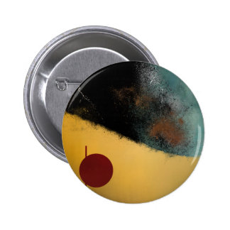 Ceramic Pixels Abstract pressionistiArt Pinback Button