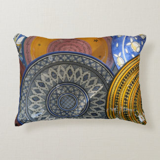 Ceramic Plates Decorative Pillow