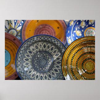 Ceramic Plates Poster