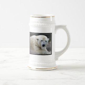 Ceramic Polar Bear stein