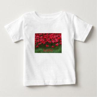 Ceramic Poppies Tee Shirt