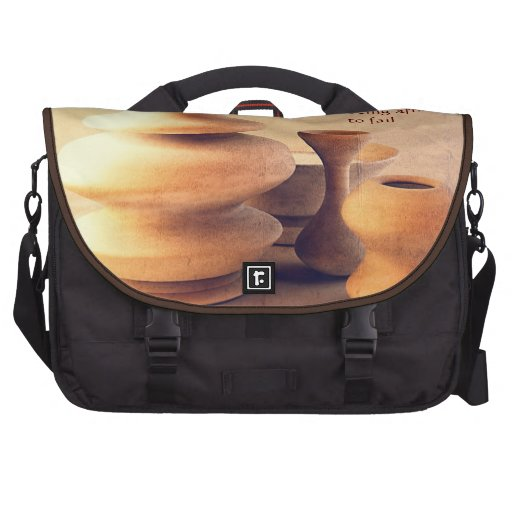 Ceramic Pottery Still Life I - Light and Shadow Bags For Laptop