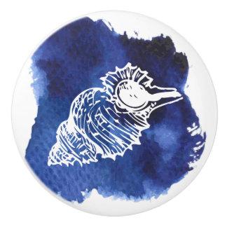 Ceramic Pull, Coastal Living Design, SeaShell Ceramic Knob