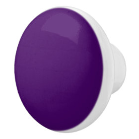 Ceramic Purple Door Knobs by Janz Ceramic Knob