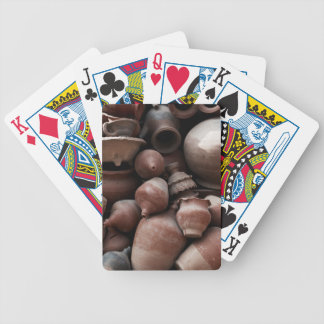 Ceramic Rejects of Potter's Square Nepal Bicycle Playing Cards