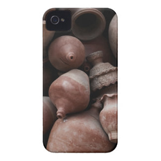 Ceramic Rejects of Potter's Square Nepal Case-Mate iPhone 4 Case